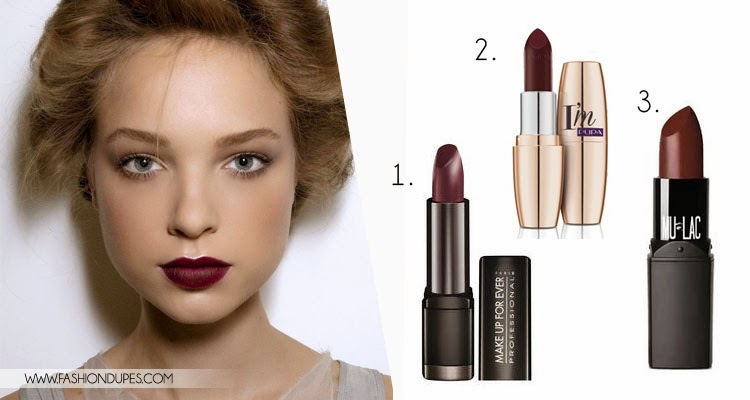 Amato Trend autunno 2014: Rossetto Burgundy - Kiki Tales SS41