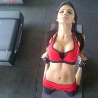 Sherlyn chopra latest gym pics