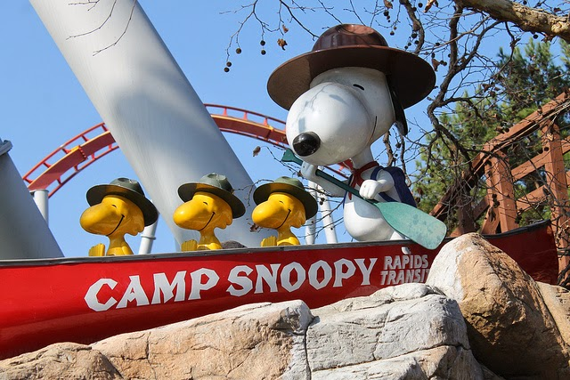 Camp+Snoopy+at+Knott& Check Out The Newly Revamped Camp Snoopy & The Reopening of Calico Mine Co. Ride