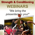 Strength and Conitioning Webinars