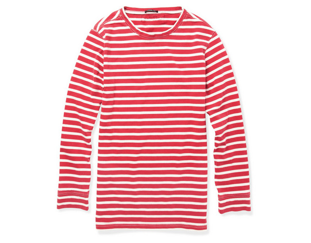 Balmain Breton Long Sleeve Top