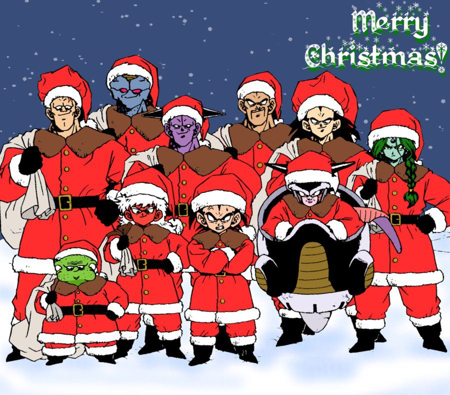Dragon Ball Super Christmas Wallpaper: BOLA DE DRAC: De Desembre 2011