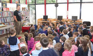 Oisin McGann at Ennistymon Library