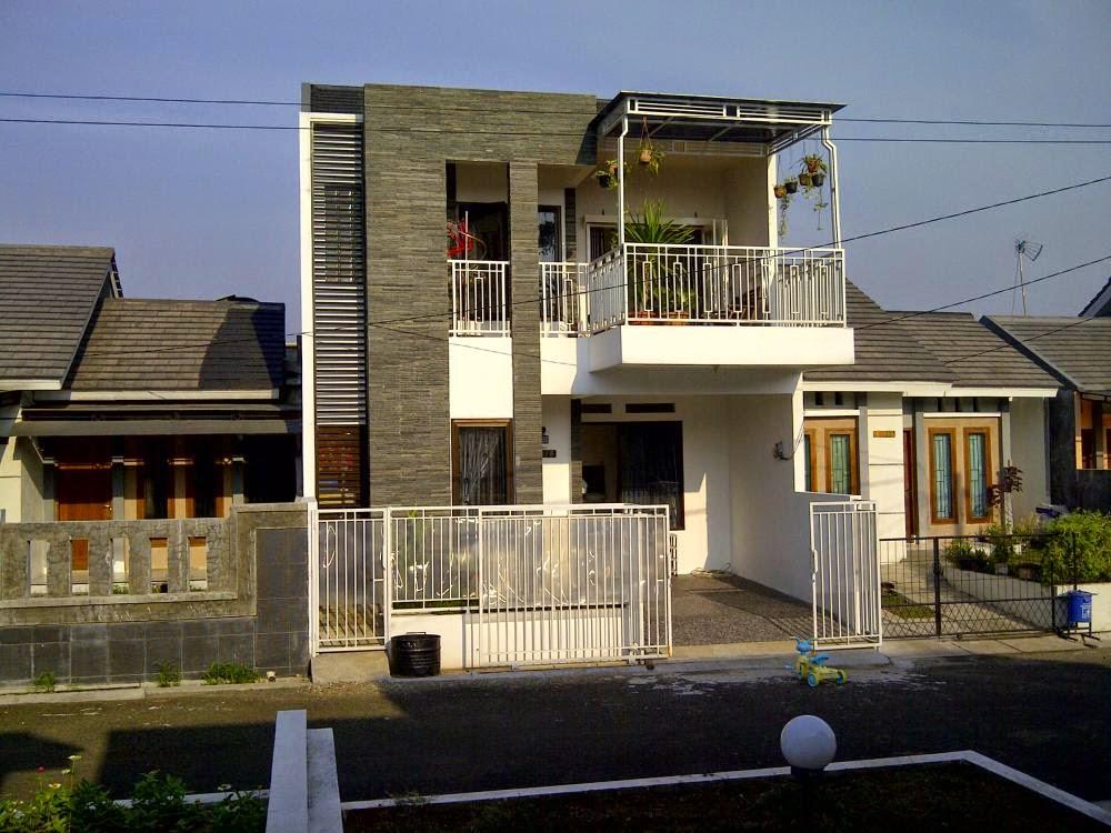 desain rumah mewah minimalis 2 lantai