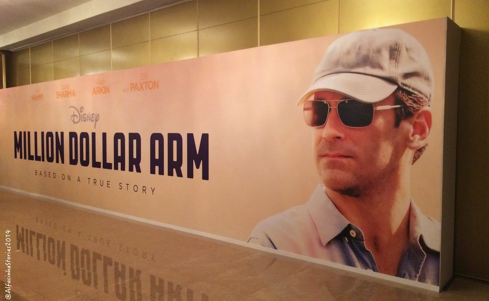 Million Dollar Arm & Jon Hamm!