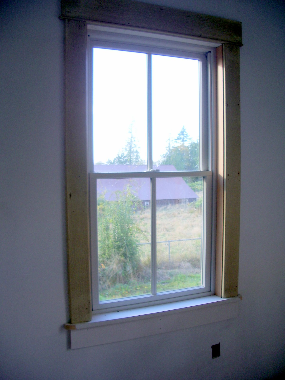 Pioneer Farmhouse Window Trim Paint Tile