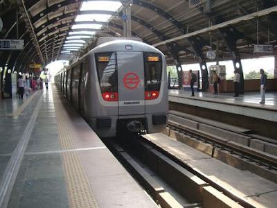 Delhi Metro Platform