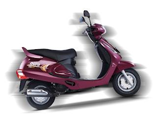 Mahindra 125cc scooters