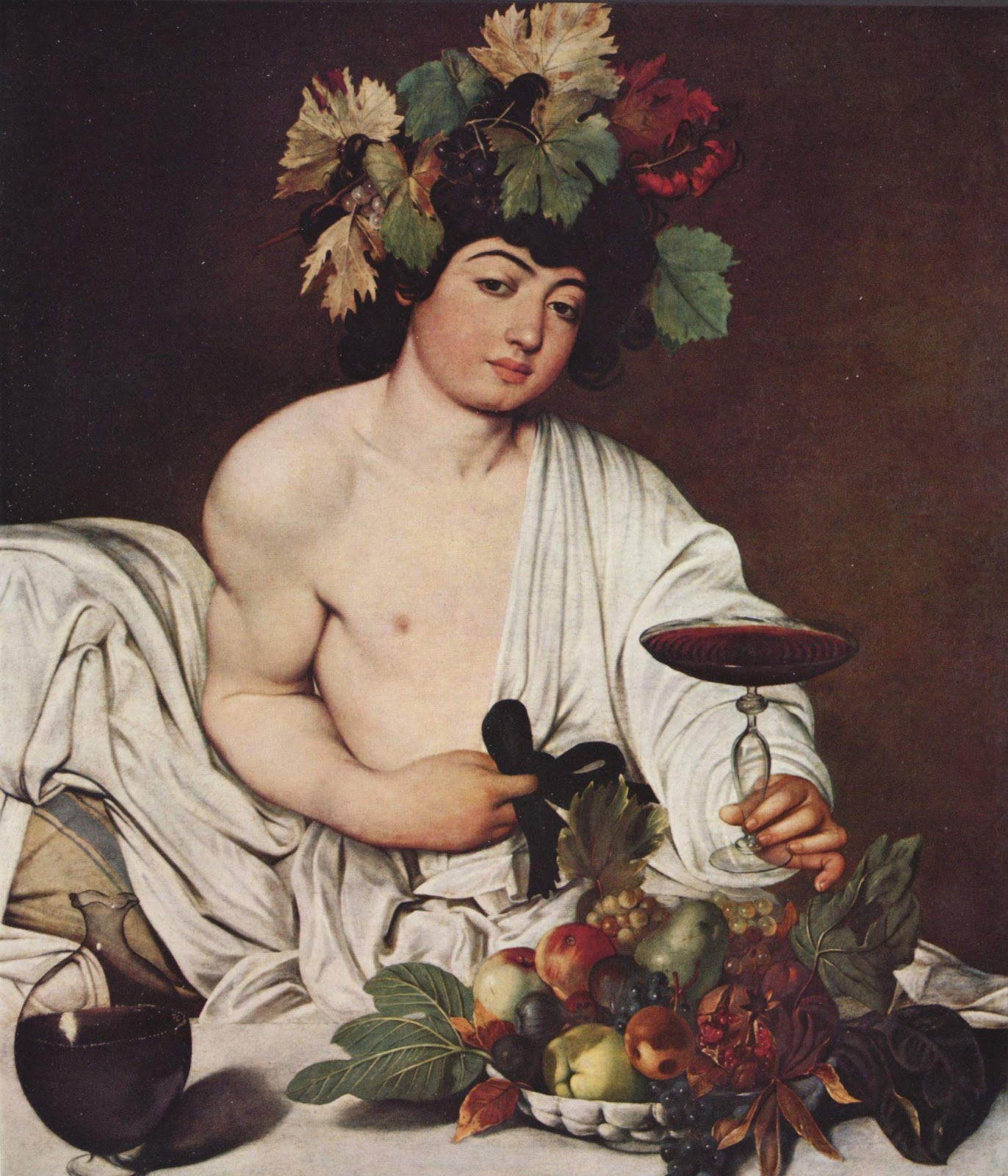 caravage bacchus painting
