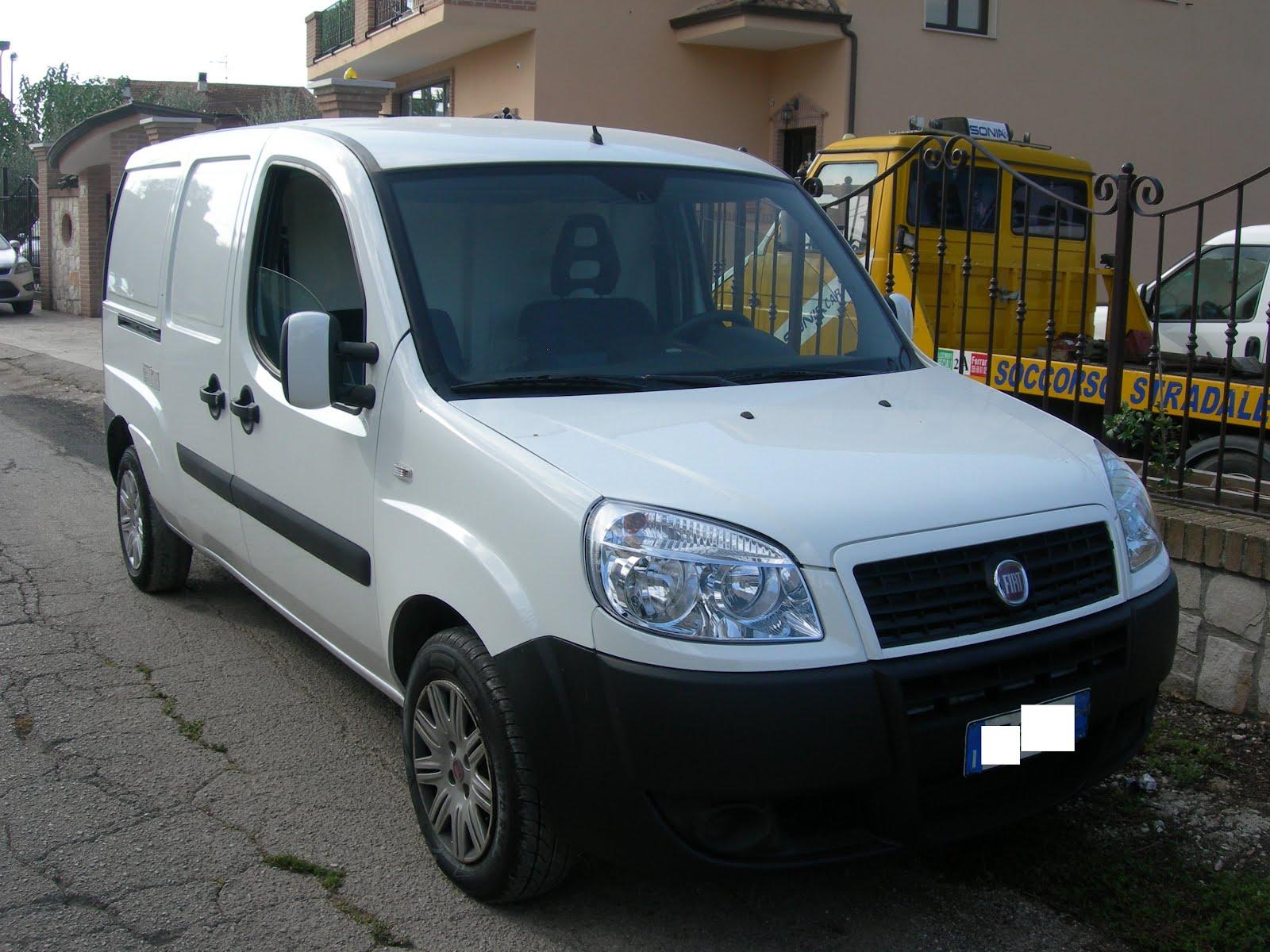 FIAT DOBLO' 1.4 T-JET NATURAL POWER MAXI METANO 2009 FRIGO COIBENTATO 7.500,00 EURO