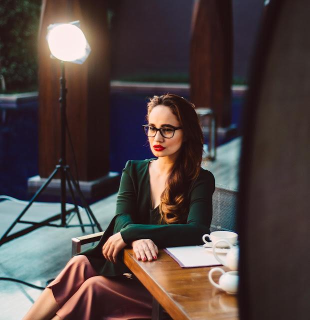 Vogue Eyewear,Spectacles, InVogueEyewear, Stephanie Timmins, Opticals, Crop Top, Culottes
