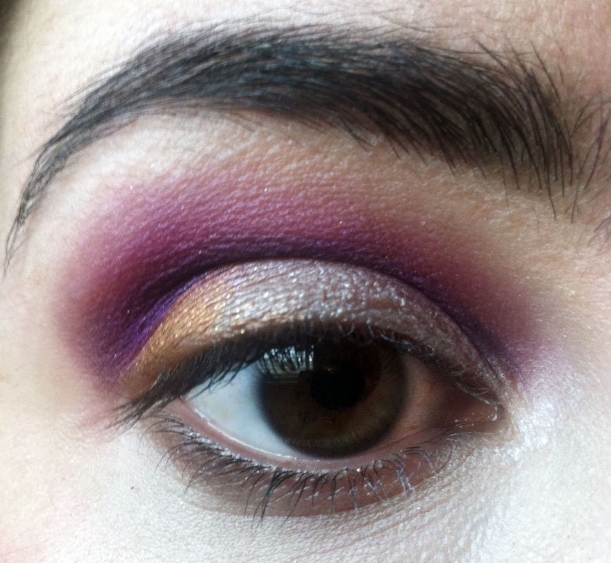 Plum, Gold and Burnt Orange- Thanksgiving Holiday Makeup Look ...