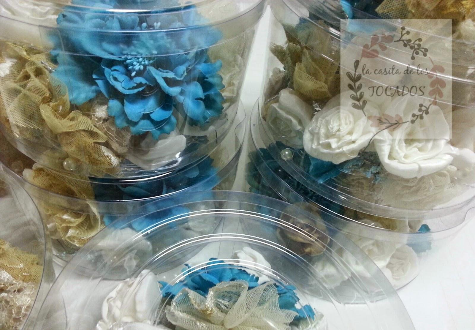 flores de tela y tul para ramo de novia vintage y otros ramos a juego