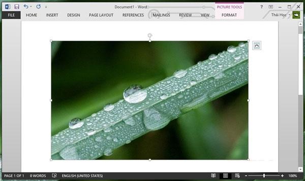 Hướng dẫn sử dụng Screenshot Tool trong Word 2013 5