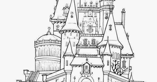 Disney World Coloring Pages Disney