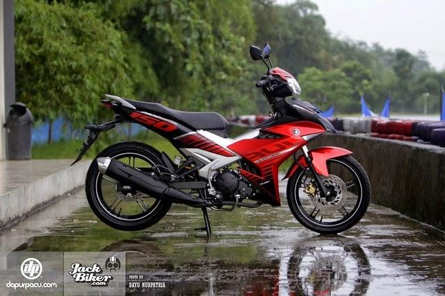 Exciter 150  Indonesia phiên bản mới giá rẻ bất ngờ