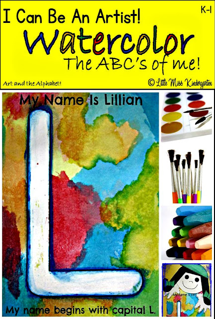 http://www.teacherspayteachers.com/Product/I-Can-Be-An-Artist-Art-And-The-ABCS-And-Me-730871