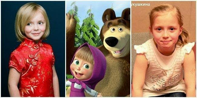Alina Kukushkina, Pengisis Suara Masha Anda The Bear