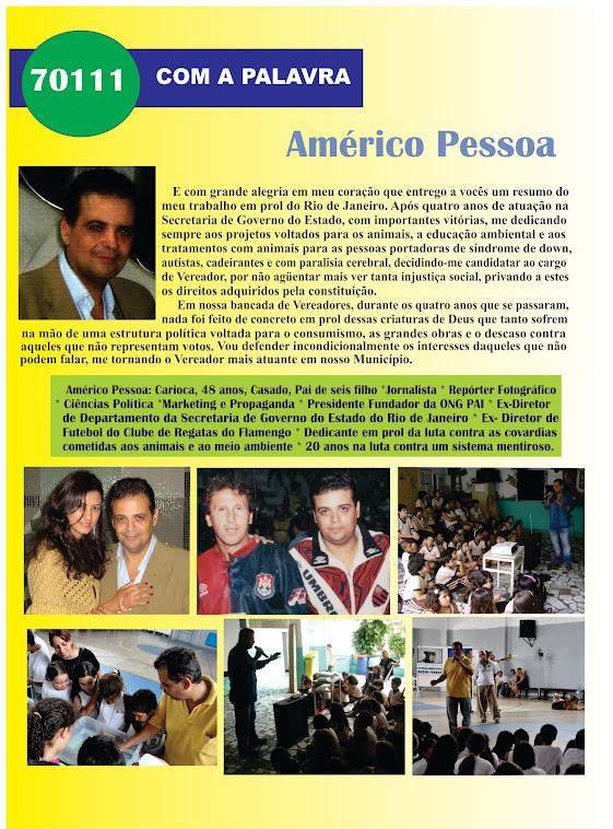 Com a palavra: AMÉRICO PESSOA