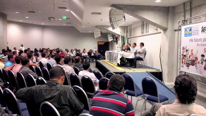 Fórum Estadual dos Secretários do Esporte do RN acontece com presença do secretário nacional de Futebol