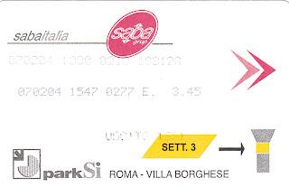Parcheggio Saba Villa Borghese Roma