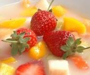 cara resep membuat es sop buah segar