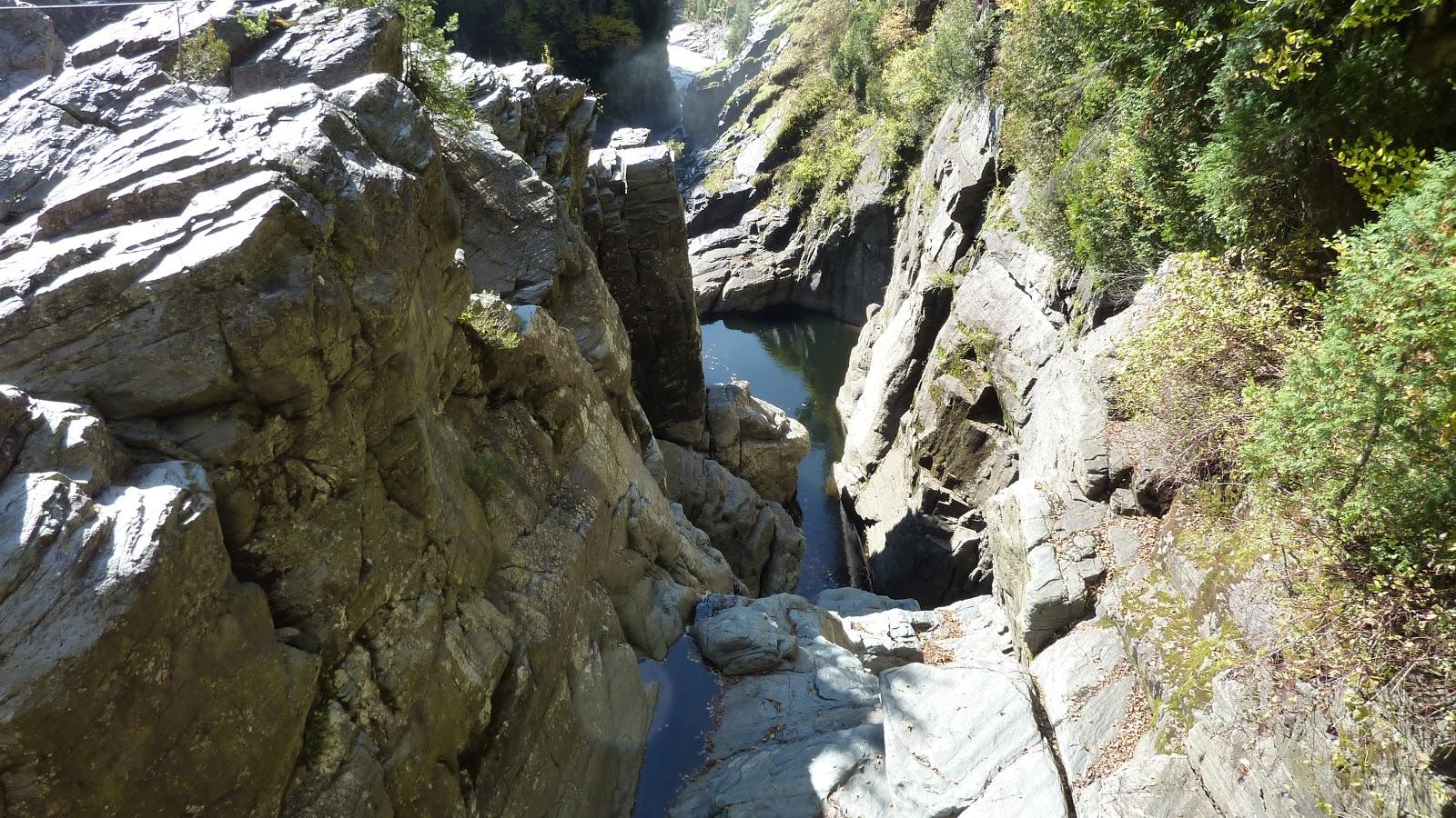 Klettergurt Fibel : Alpen club ac: klettern im canyon saint anne