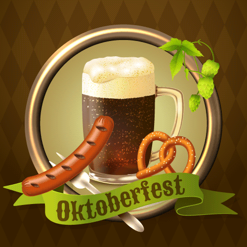 Fondo del Octoberfest - vector