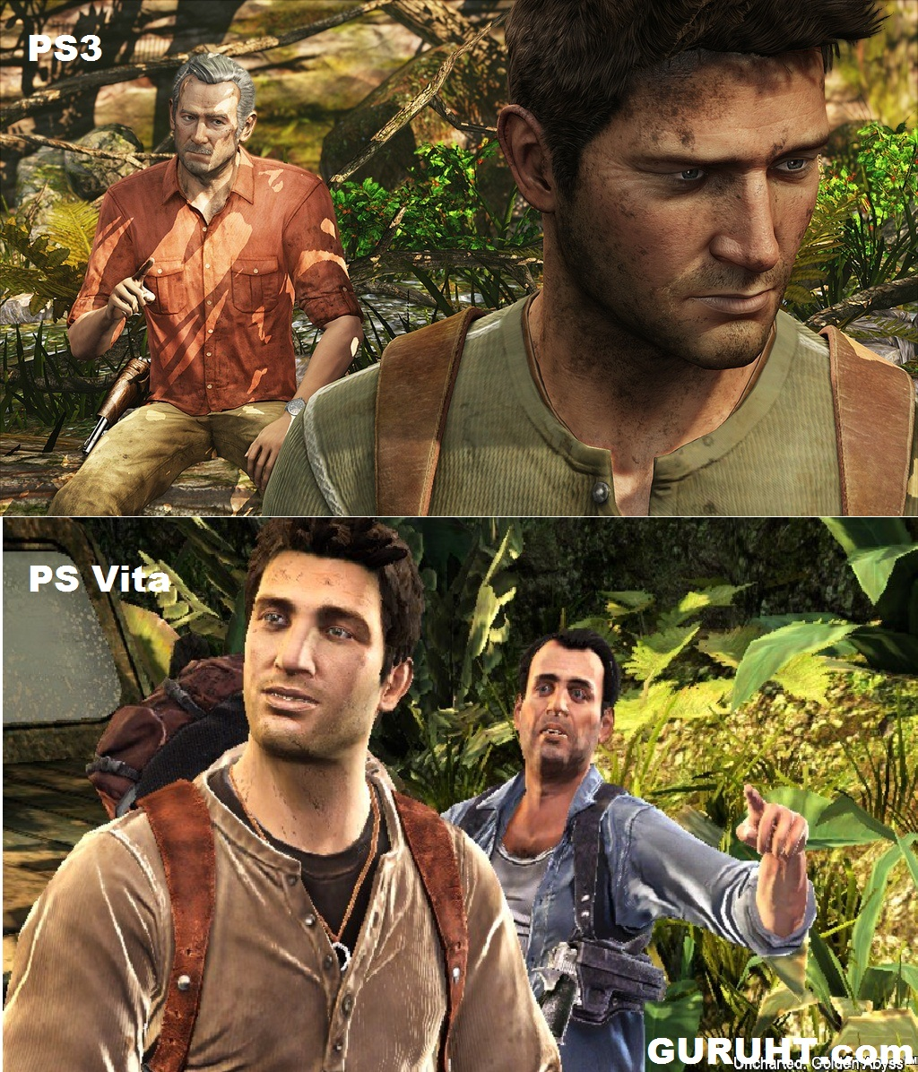 Uncharted Golden Abyss ps Vita Gameplay Uncharted Golden Abyss ps