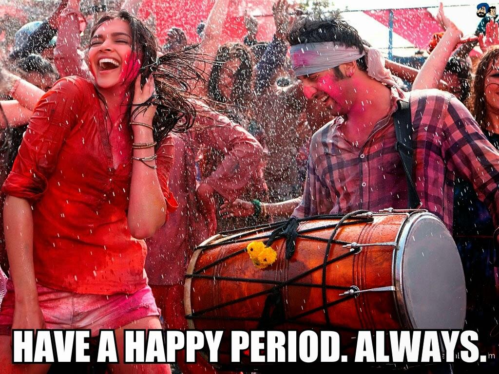 "Deepika Padukone and Ranbir Kapoor ""Balam Pichkari"" Bollywood Meme Period"