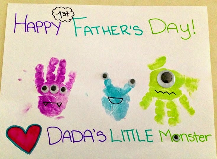 Interesting fathers day presents, motivate kids to draw paintings