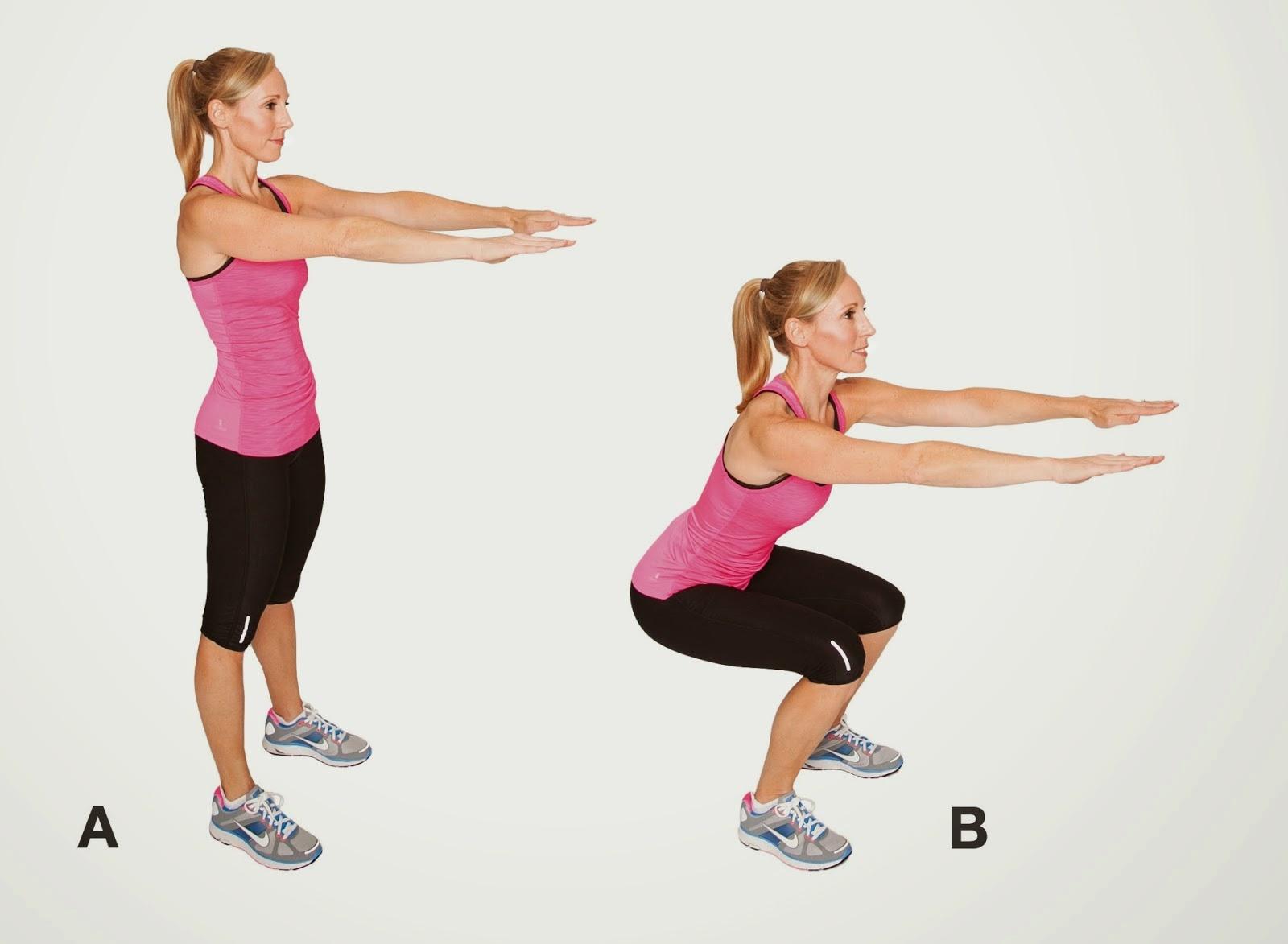 Kayla Workout Program Monday Weeks 1&3 | Nakedlydressed