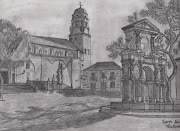 Dibujos de Paisajes a lápiz y carboncillo img