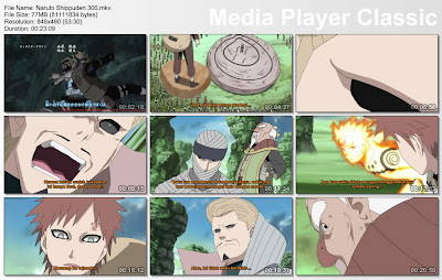"DOWNLOAD FILM / ANIME NARUTO EPISODE 300 ""MIZUKAGE, KERANG RAKSASA, DAN FATAMORGANA"" BAHASA INDONESIA"