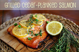 Grilled Cedar Planked Salmon