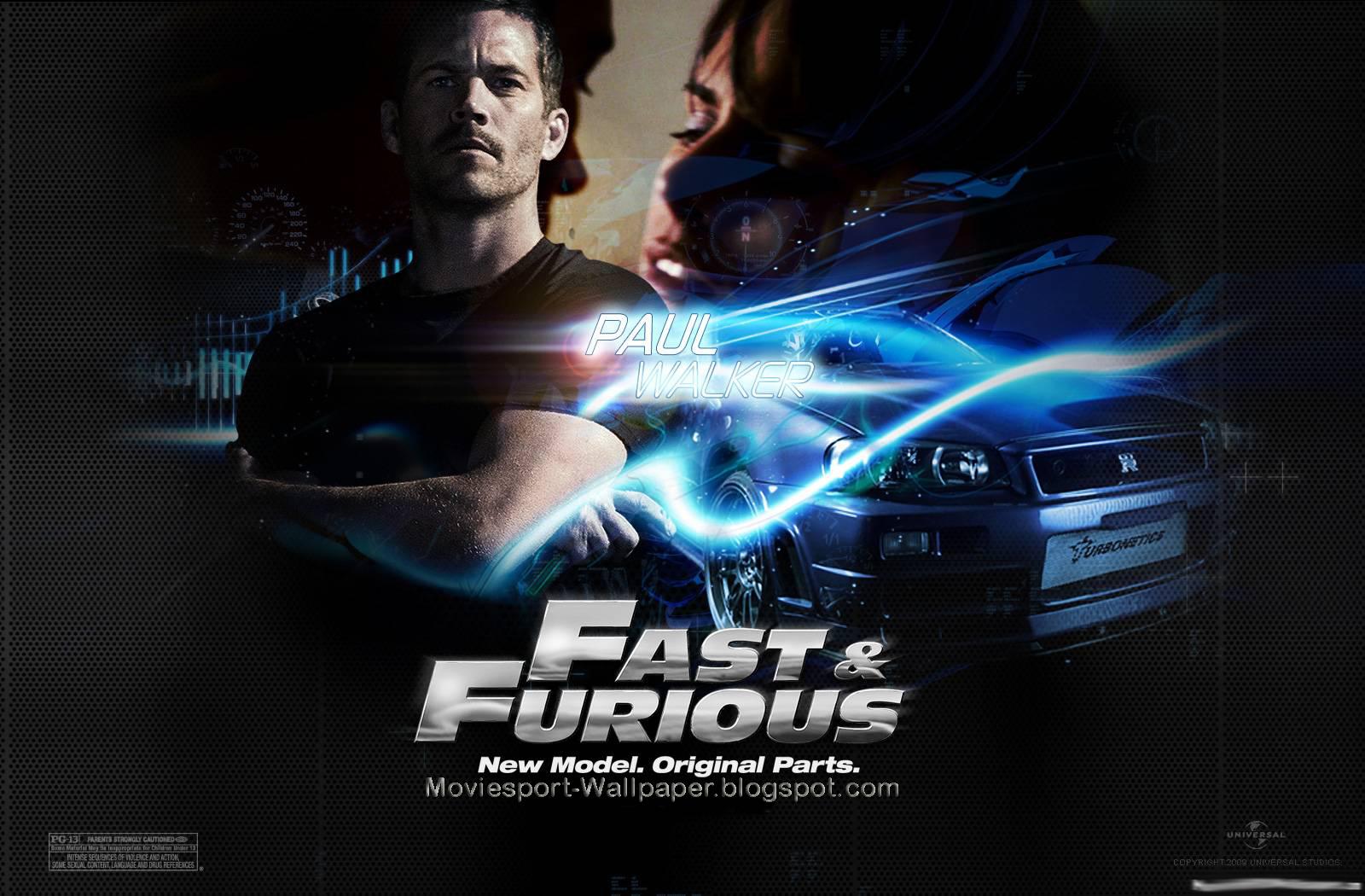 Fast Furious 6 Paul Walker Wallpaper