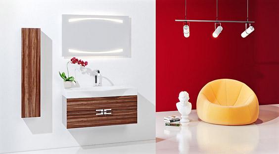 Сантехника на фото: мебель Aqwella Ancona для ванной комнаты