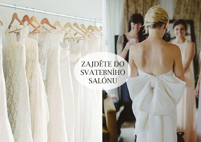 Vemte svou matku na zkoušku svatebních šatů