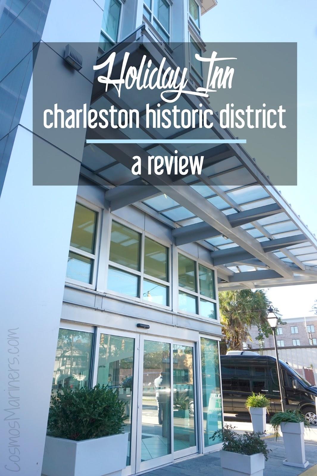 Big Backyard Charleston Lodge : Holiday Inn Charleston Historic Downtown {Charleston, South Carolina