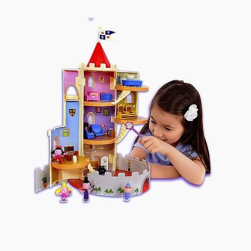El castillo magico de Ben y Holly juguetes