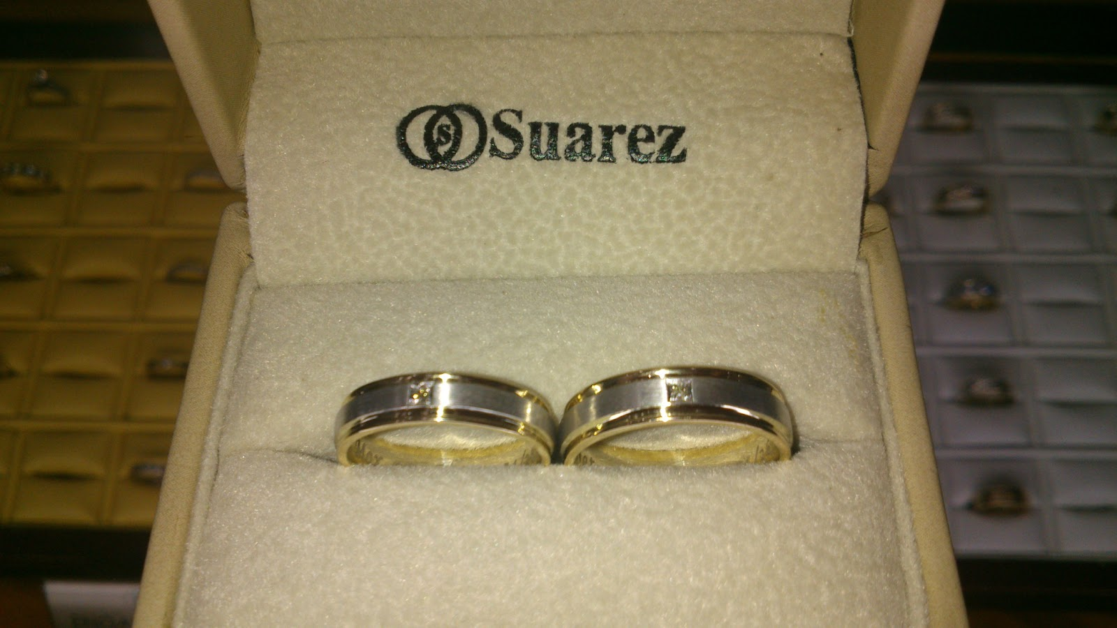 Charming new wedding rings Suarez wedding rings hw flat