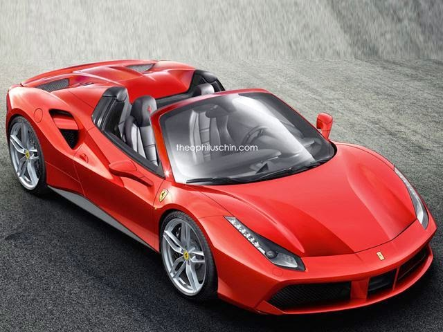 Spesial terbaru Ferrari 488 GTB