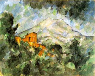CEZANNE Mont Sainte-Victoire et Chateau Noir