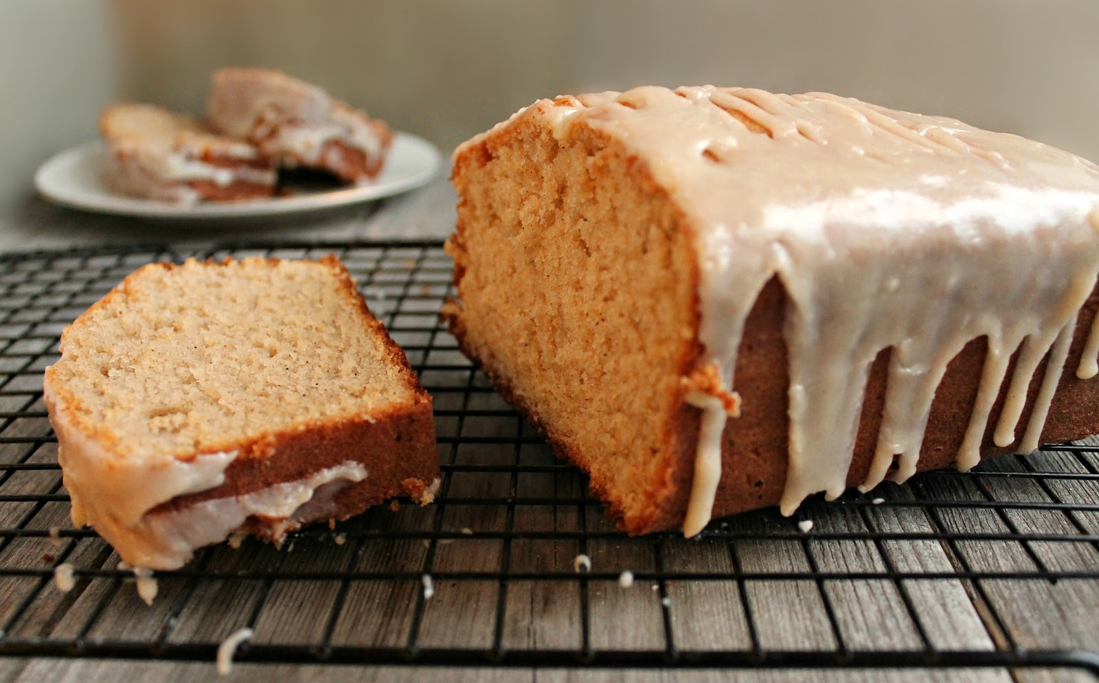 Hungry Couple: Gingerbread Loaf with Ginger Glaze