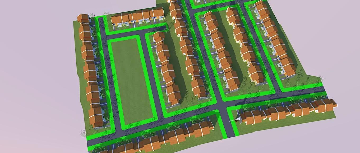 Site Plan Rumah Kecil