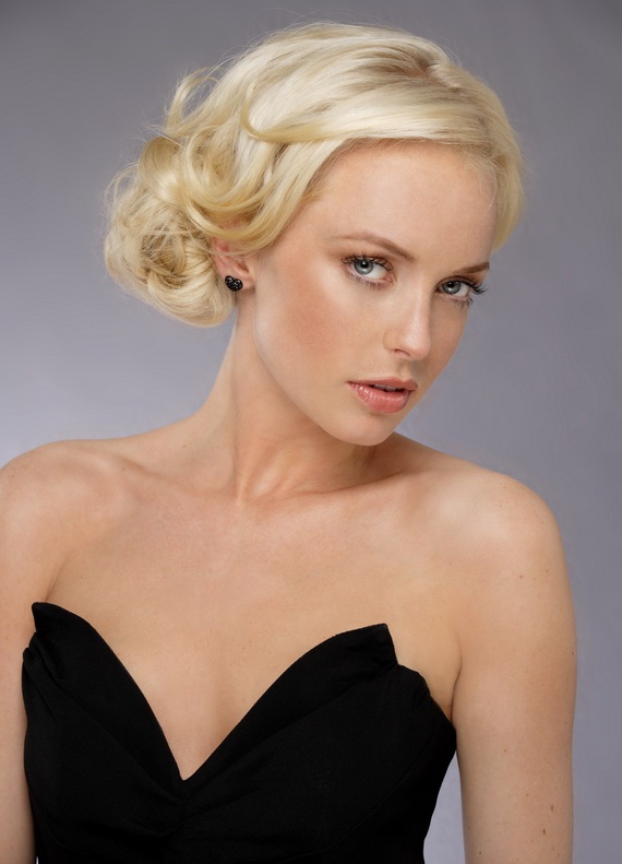 Updo Hairstyles for Heart Shaped Faces