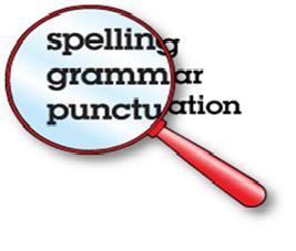 Spelling Punctuation and Grammar Check