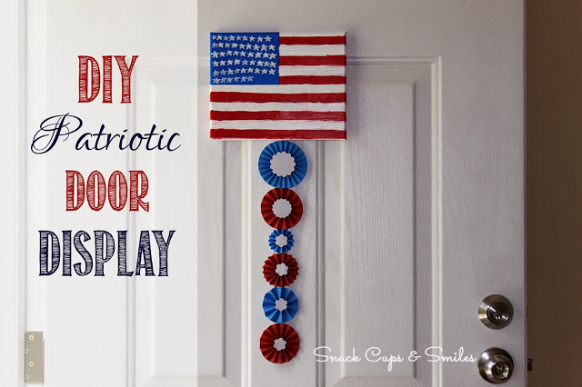 diy patriotic door display