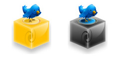 Twitter Icons And Buttons