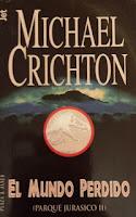 El Mundo Perdido, Parque Jurásico II, Michael Crichton